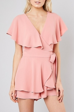 Do & Be Wrap Front Romper - Product List Image