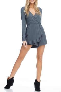 Anama Wrap Front Romper - Product List Image