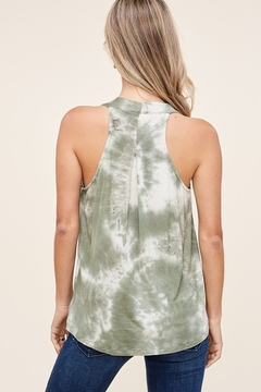 Staccato Wrap Front Tie Dye Top - Alternate List Image