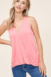 Staccato Wrap Front Top - Product Mini Image