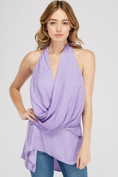 Do & Be Wrap Halter Top - Product List Image