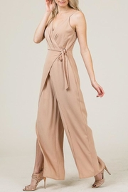 Yipsy Wrap Jumpsuit - Front cropped