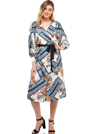 dress forum Wrap Kimono Dress - Product Mini Image