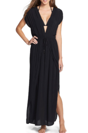Elan  Wrap Maxi Cover-Up Dress - Front cropped