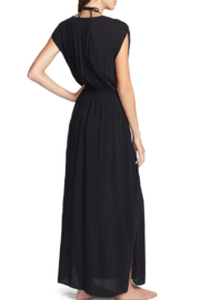 Elan  Wrap Maxi Cover-Up Dress - Side cropped
