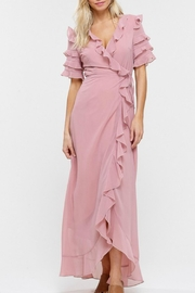 Listicle Wrap Maxi Dress - Product Mini Image