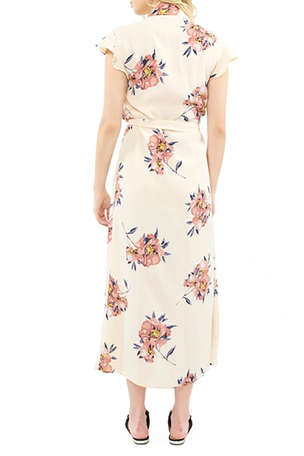 Saltwater Luxe Wrap Maxi Dress - Front Full Image