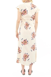 Saltwater Luxe Wrap Maxi Dress - Front full body