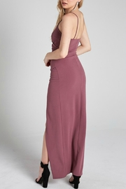 Pretty Little Things Wrap Maxi Dress - Side cropped