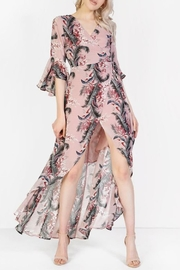 Glamorous Wrap Maxi Dress - Front cropped