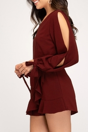 She + Sky Wrap Me Up Romper - Side cropped