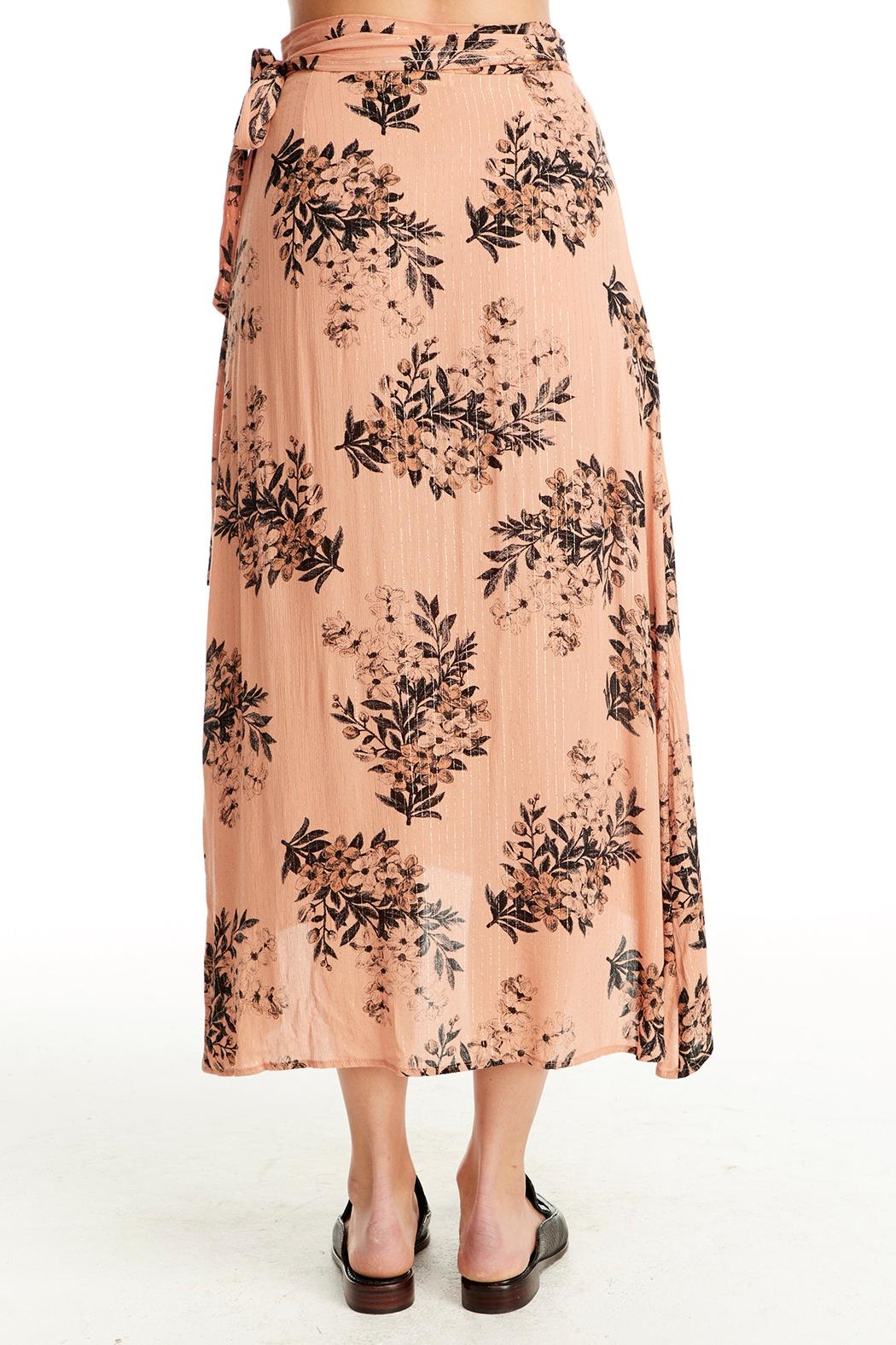 Saltwater Luxe Wrap Midi Skirt - Side Cropped Image