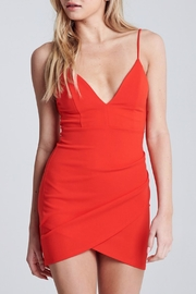 Pretty Little Things Wrap Mini Dress - Front cropped