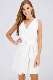 The Clothing Co Wrap Mini Dress - Product Mini Image
