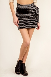 Olivaceous Wrap Mini Skirt - Product Mini Image