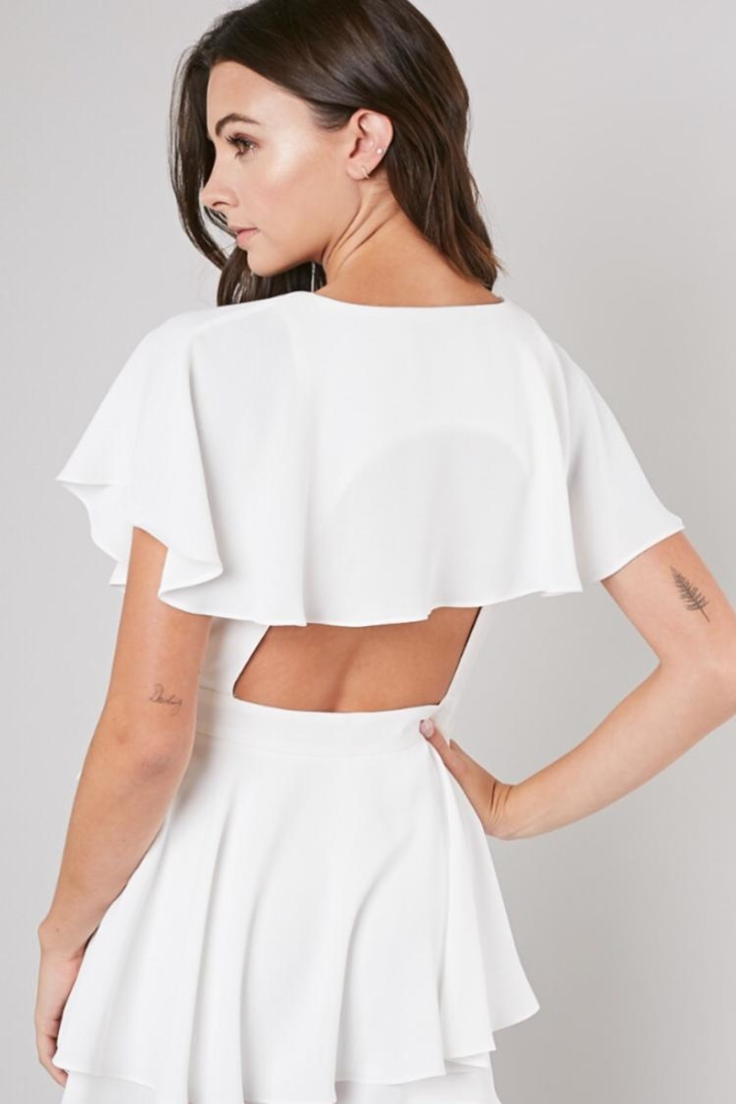 Do & Be Wrap Playsuit - Side Cropped Image
