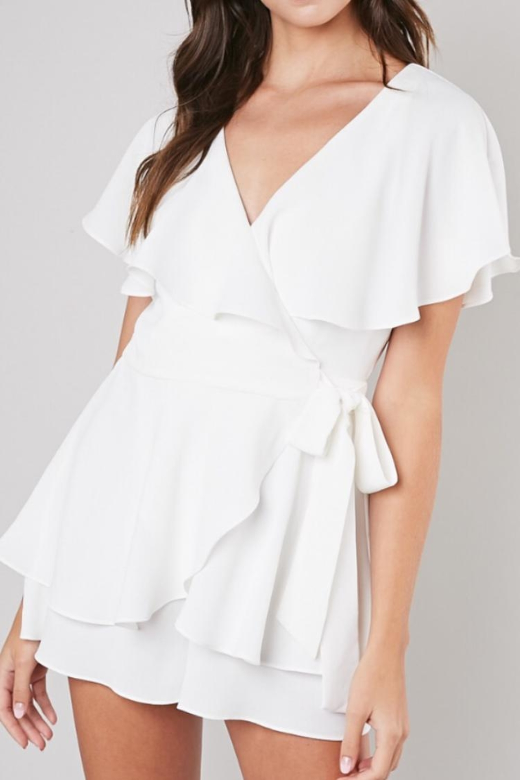 Do & Be Wrap Playsuit - Main Image