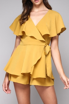 Shoptiques Product: Wrap Playsuit Romper