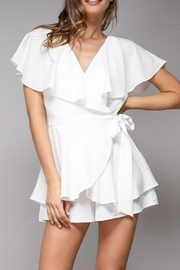 Do & Be Wrap Playsuit - Front cropped