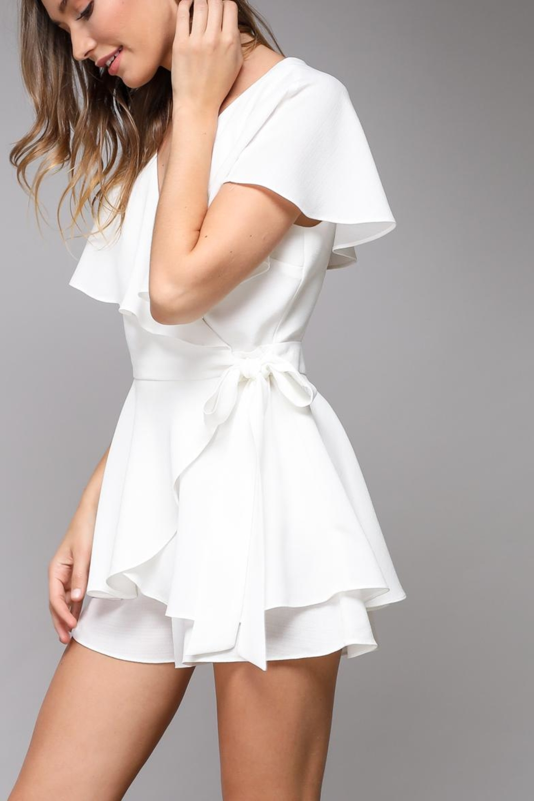 Do & Be Wrap Playsuit - Front Full Image