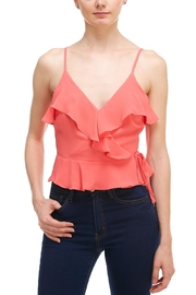 Idem Ditto  Wrap Ruffle Cami - Product Mini Image