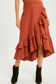 Wishlist Wrap ruffle skirt - Product Mini Image