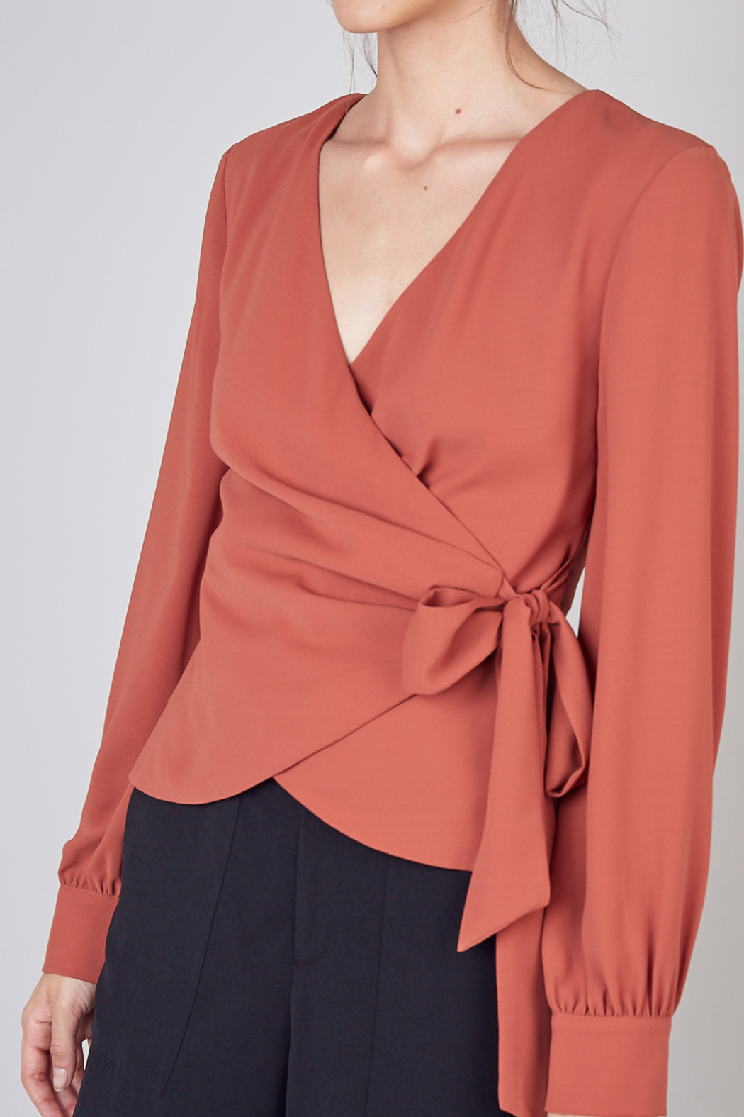 Do+Be Collection  Wrap Style Top - Main Image