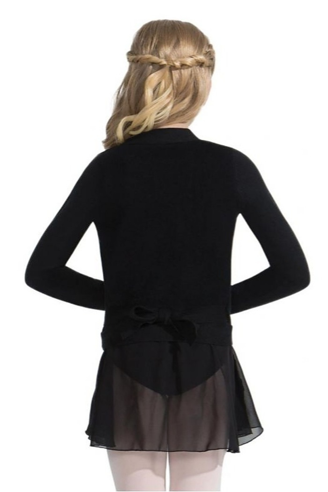 Capezio Wrap Sweater - Front Full Image