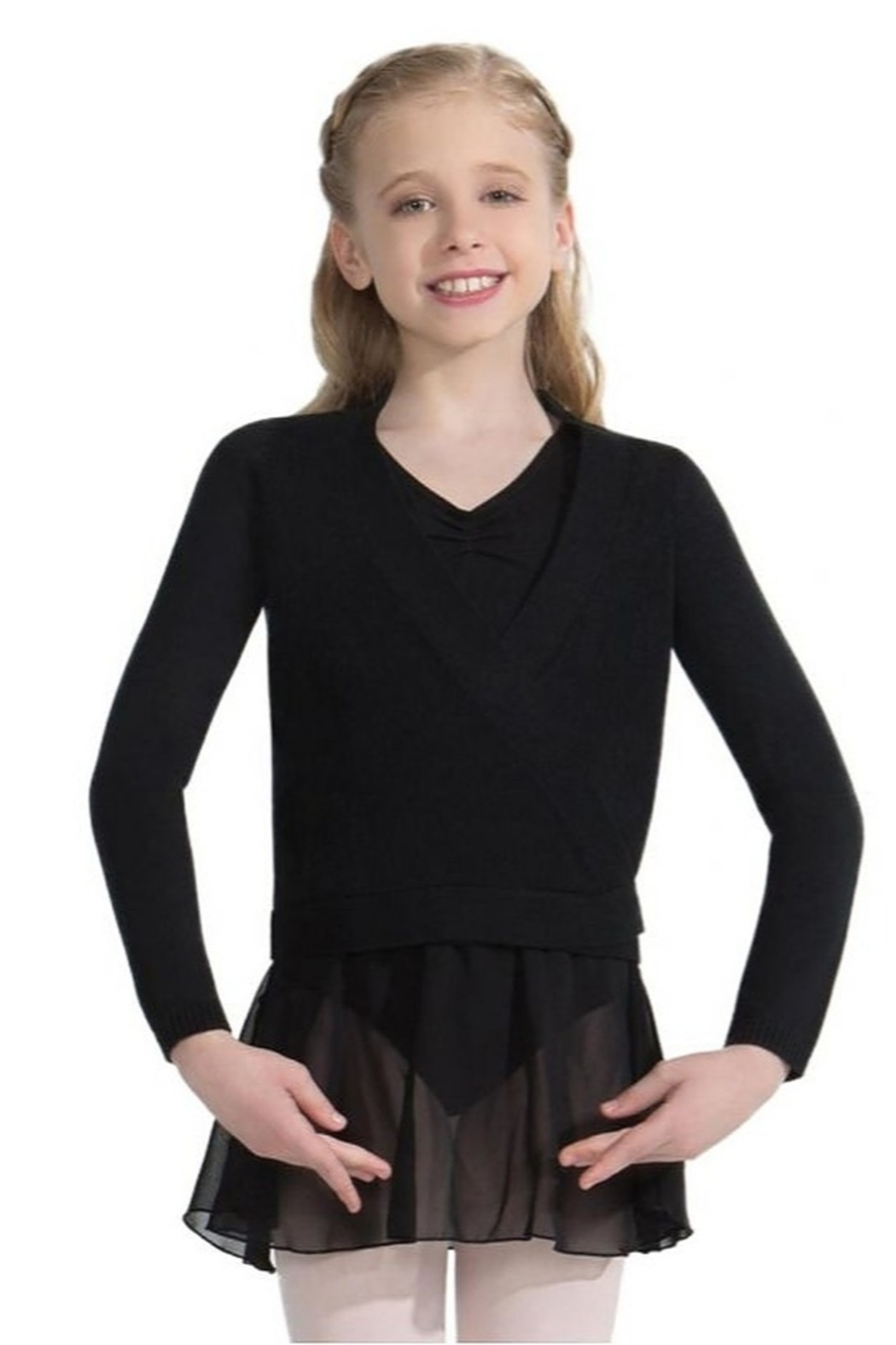 Capezio Wrap Sweater - Main Image