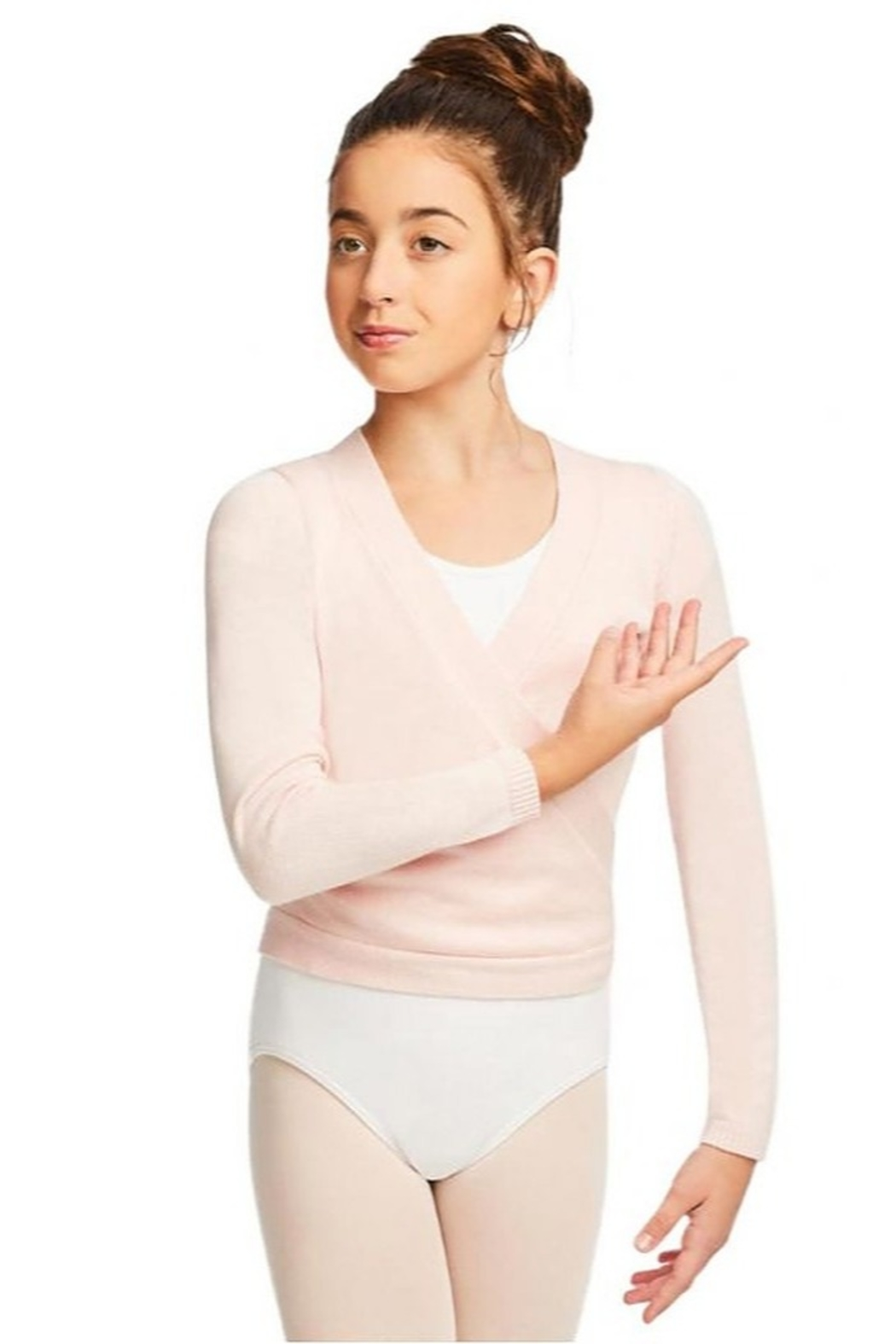 Capezio Wrap Sweater - Front Cropped Image