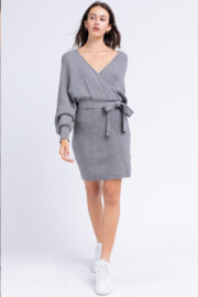 Le Lis Wrap Sweater Dress - Other