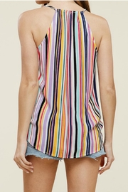 Staccato Wrap Tank Top - Back cropped