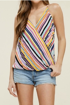 Staccato Wrap Tank Top - Product List Image