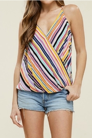Staccato Wrap Tank Top - Front cropped