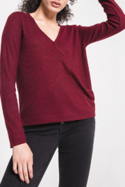 z supply Wrap Tee - Front cropped