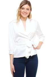 Venti 6 Wrap Tie Blouse - Product Mini Image