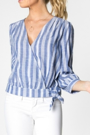 Everly Wrap Top - Product Mini Image