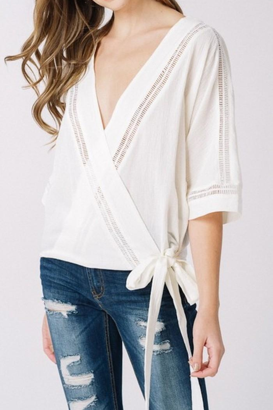 Listicle Wrap Top - Main Image