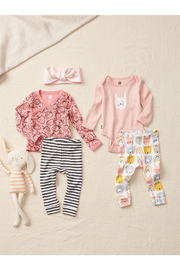 Tea Collection  Wrap Top Baby Outfit - Strawberries - Product Mini Image