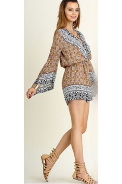 People Outfitter Wrap V-Neck Romper - Product List Image