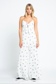 skylar madison Wrapped Floral Jumpsuit - Product Mini Image