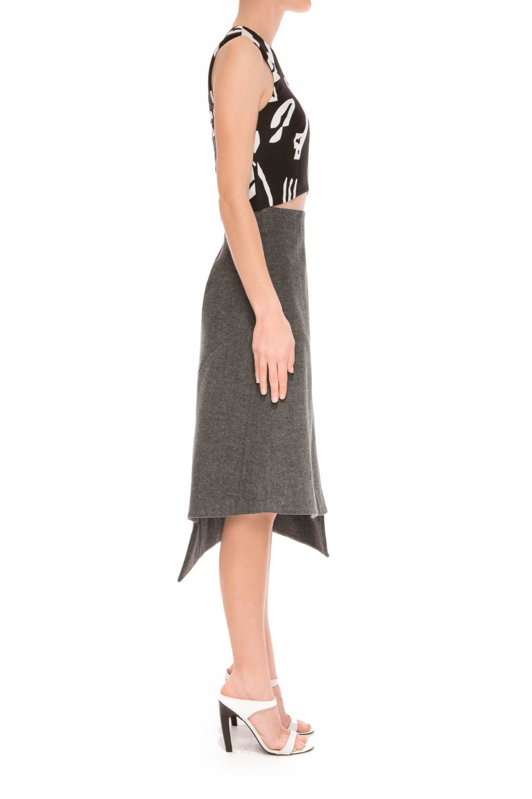 C/MEO COLLECTIVE Wrapped Up Skirt - Front Full Image