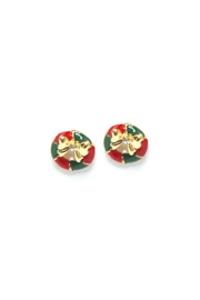 Wild Lilies Jewelry  Wreath Stud Earrings - Product Mini Image