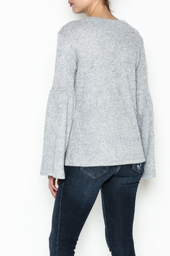 WREN & WILLA Bell Sleeve Sweater - Alternate List Image