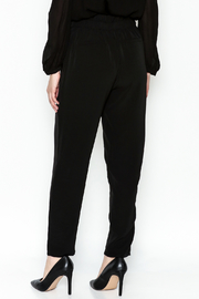 WREN & WILLA Gold Button Pants - Back cropped