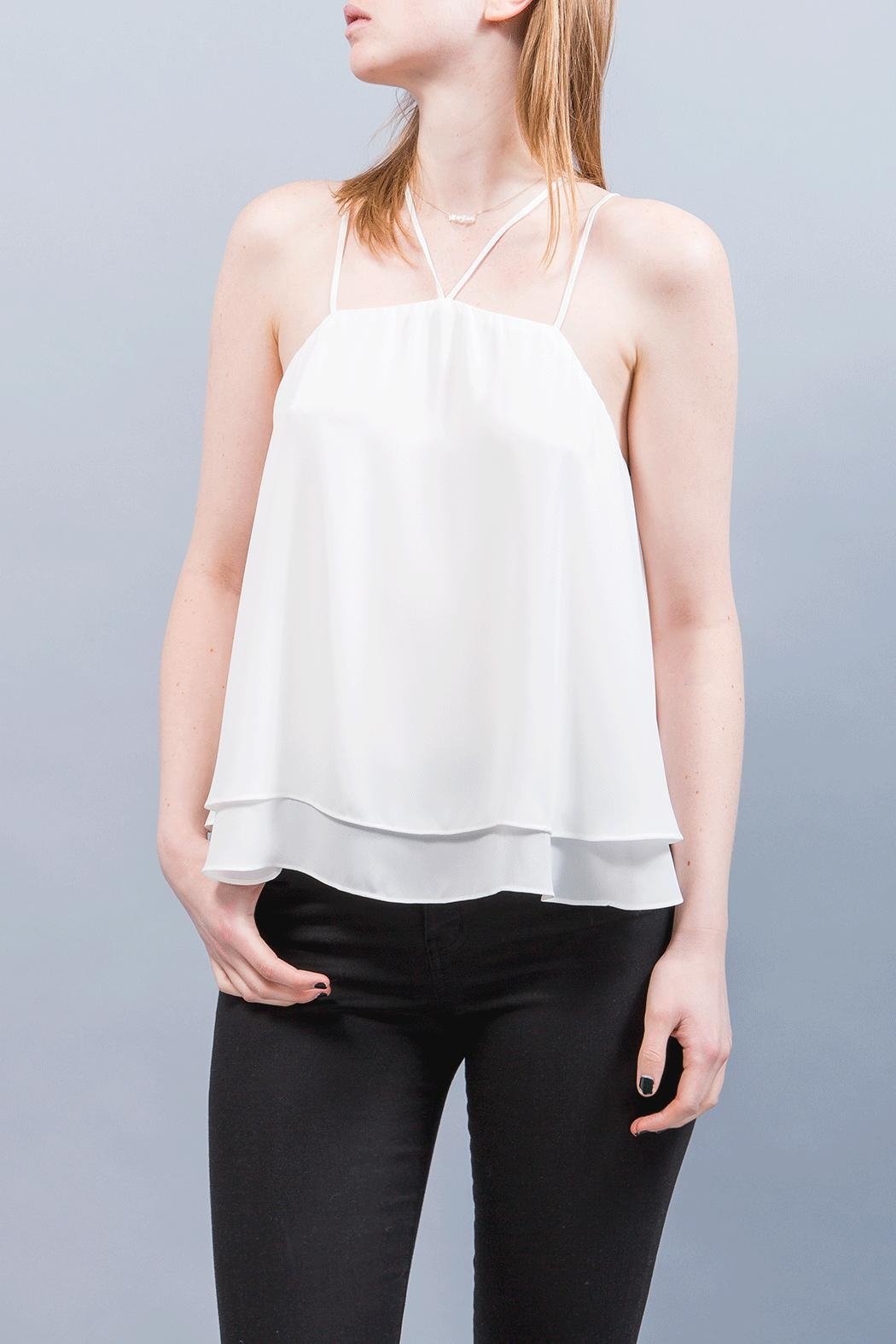 WREN & WILLA Double Strap Top - Front Cropped Image