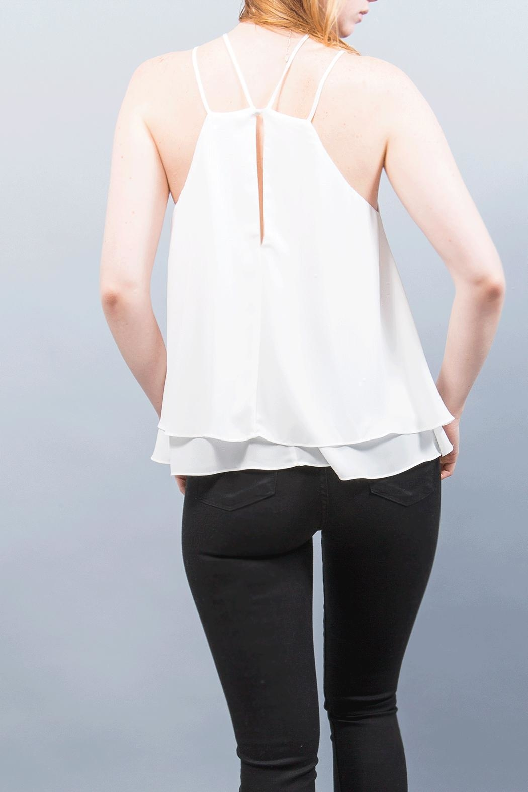 WREN & WILLA Double Strap Top - Front Full Image