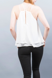 WREN & WILLA Double Strap Top - Front full body