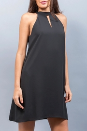 WREN & WILLA Keyhole Mini Dress - Product Mini Image