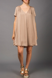 WREN & WILLA Metallic Swing Dress - Product Mini Image